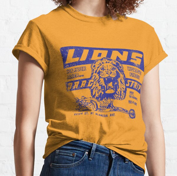 LIONS DRAG STRIP Once Upon a Time in Hollywood Brad Pitt t-shirt Classic T-Shirt