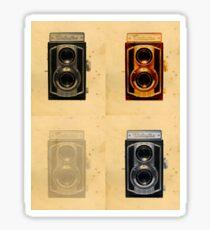 Weltaflex Camera  Sticker