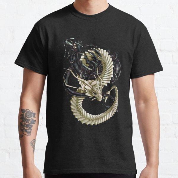 Dragon d'encre et de papier T-shirt classique