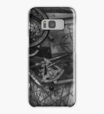 Old World Travel bw Samsung Galaxy Case/Skin