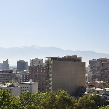 Santiago Skyline  by TheAngryAggron