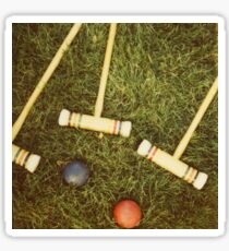 Croquet Sticker