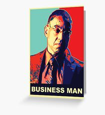 "Breaking Bad: Gus Fring ""Business Man"" Greeting Card"