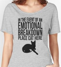 Place cat here Women's Relaxed Fit T-Shirt