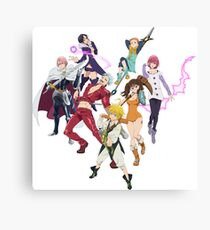 The Seven Deadly Sins Canvas Print