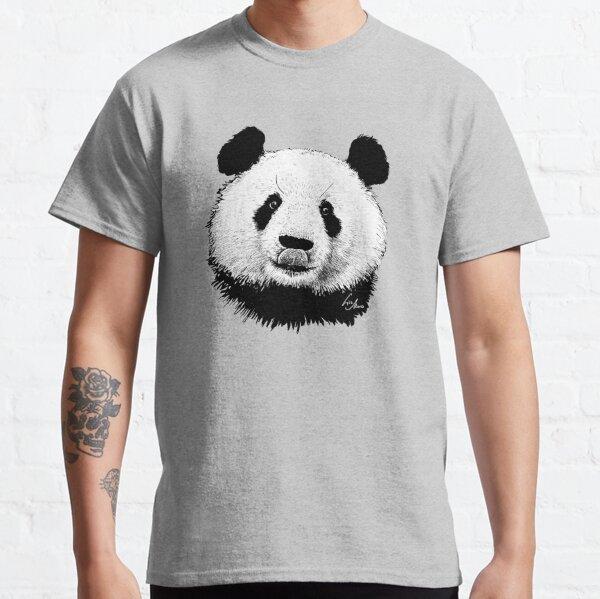 Panda-Kopf Illustration Classic T-Shirt