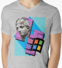 Vaporwave ! Men's V-Neck T-Shirt