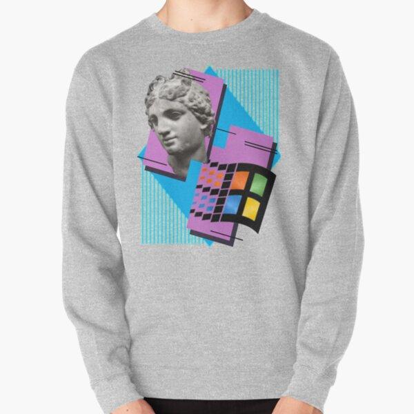Vaporwave ! Pullover Sweatshirt