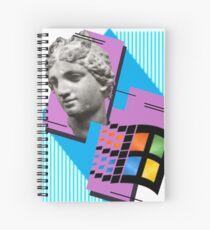 Vaporwave ! Spiral Notebook