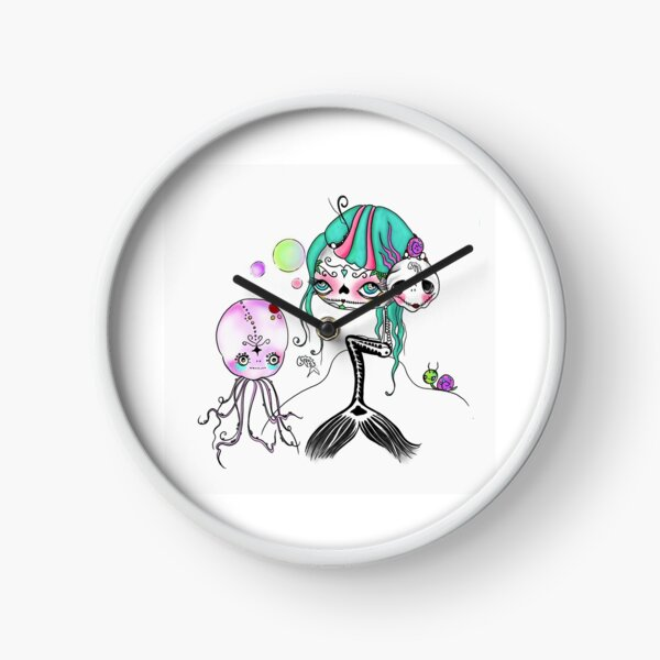 Mermaid Uhr