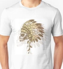 Native American Indian chief headdress T-Shirt