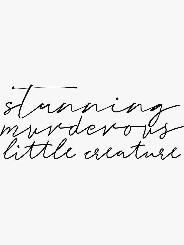 Stunning Murderous Little Creature From Blood and Ash Quote by BookishWaves