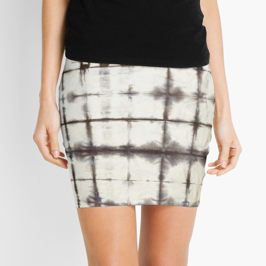 Shibori Coolness Mini Skirt