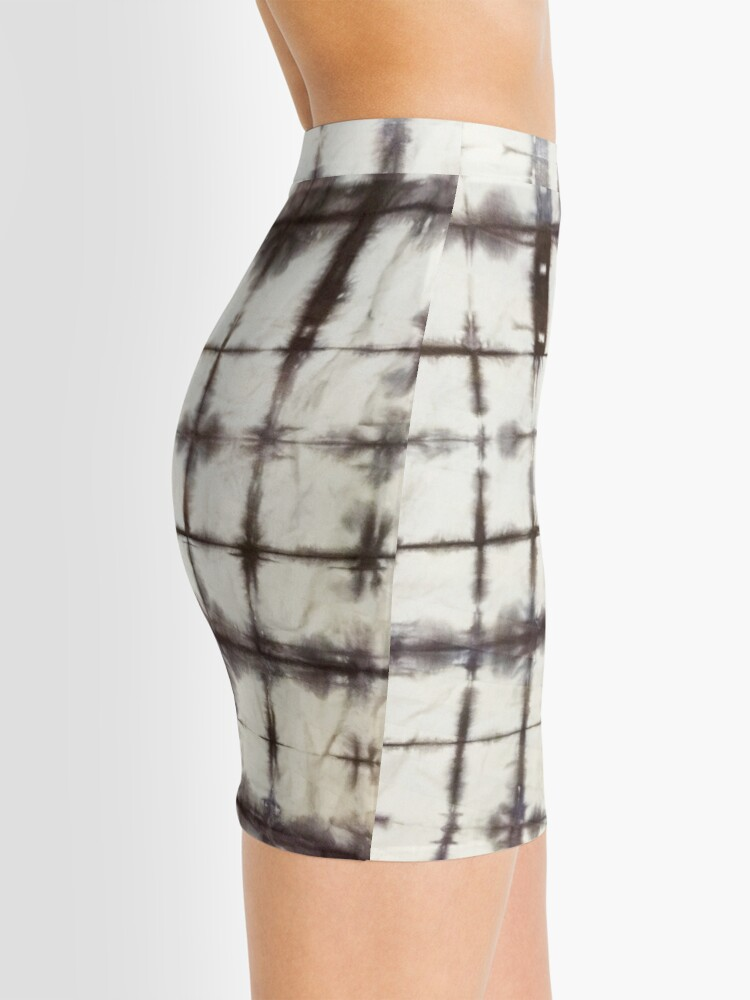 Alternate view of Shibori Coolness Mini Skirt