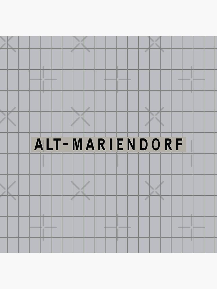 Alt-Mariendorf Station Tiles (Berlin) by in-transit