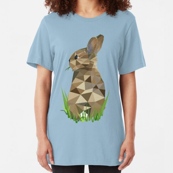 Kaninchen T-Shirt Fit Pumpernickel Fitness Gym workout Hase