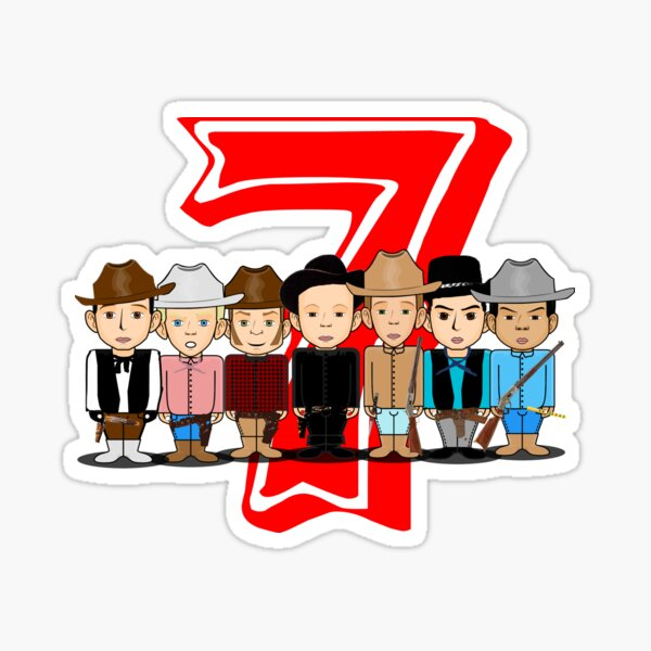 Les sept Sticker