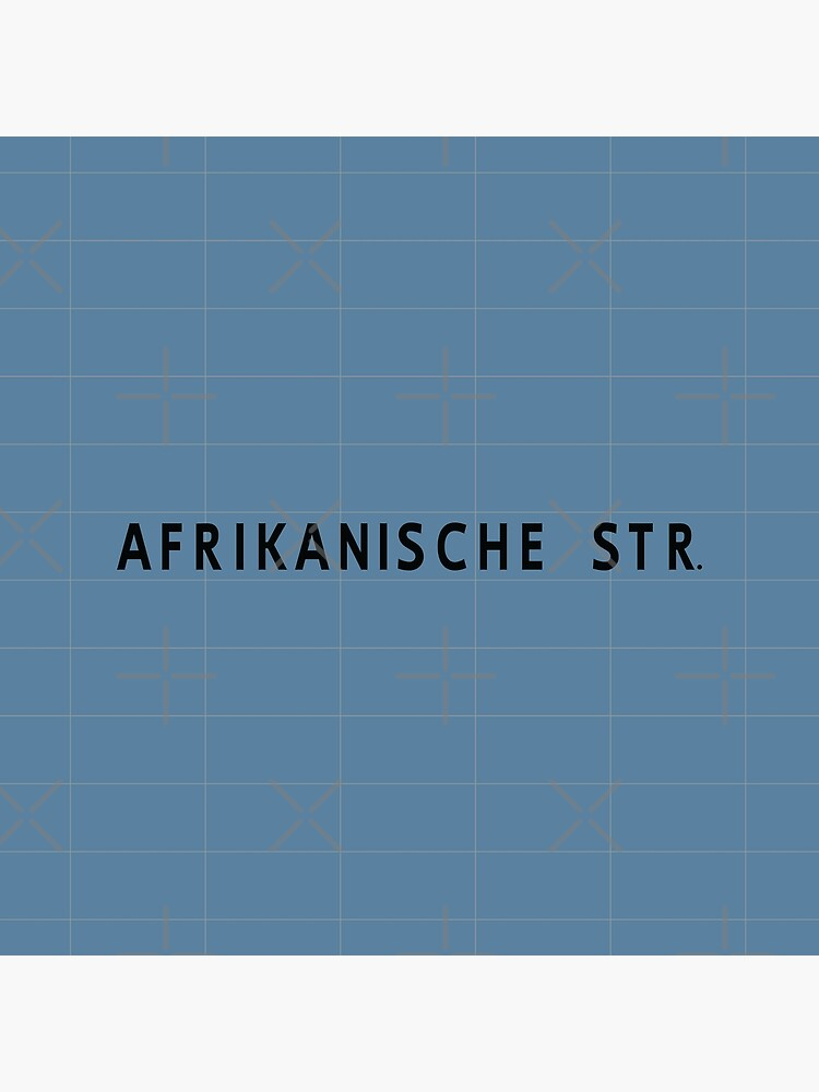 Afrikanische Straße Station Tiles (Berlin) by in-transit