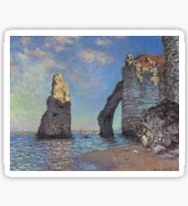 Claude Monet - The Cliffs at Etretat Sticker