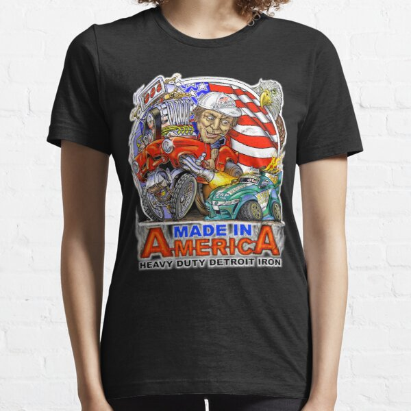 Detroit Iron Made in America Essential T-Shirt