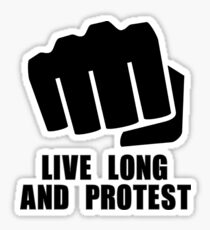 Live Long Sticker