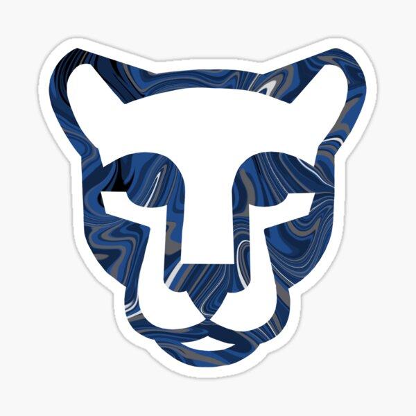 Lion face with swirls Sticker