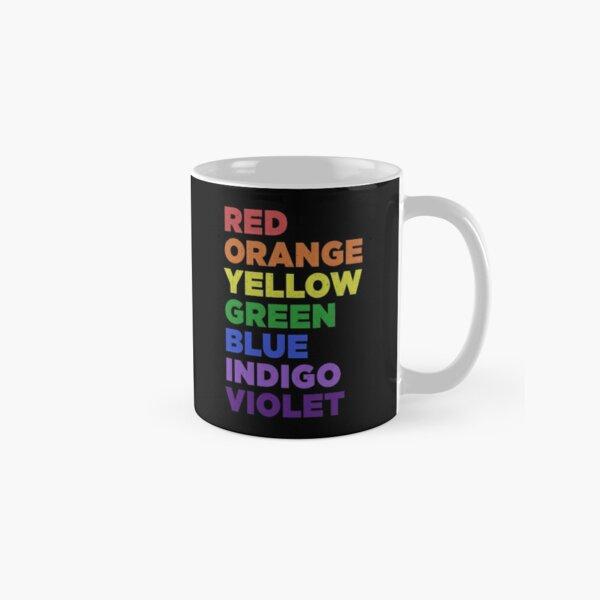Color Theory Light Spectrum ROYGBIV All Colors Classic Mug