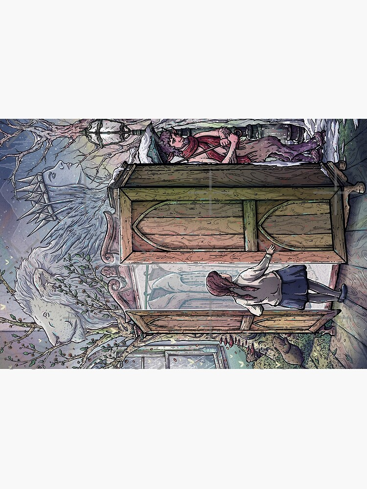 Lucy's Discovery, Narnia Fan Art by TaylorRoseArt
