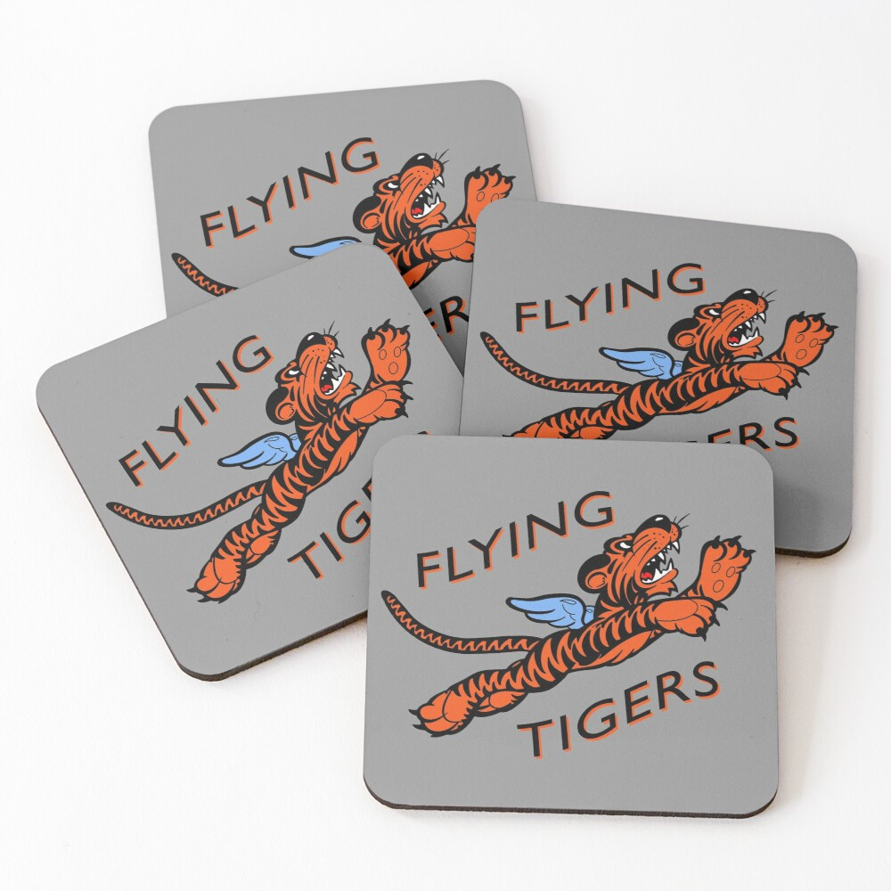 The Flying Tigers Coasters (Set of 4)