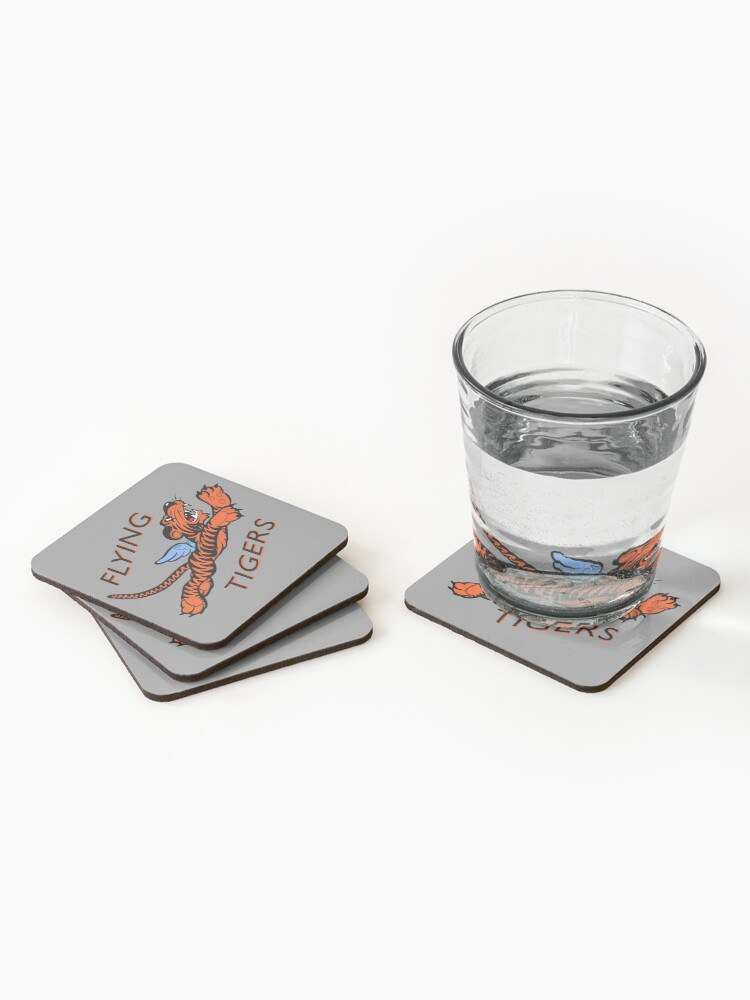 Alternate view of The Flying Tigers Coasters (Set of 4)