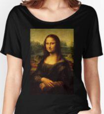 Leonardo da Vinci - Mona Lisa Women's Relaxed Fit T-Shirt