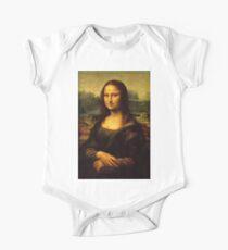 Leonardo da Vinci - Mona Lisa One Piece - Short Sleeve