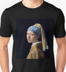 Johannes Vermeer - Girl with a Pearl Earring Unisex T-Shirt