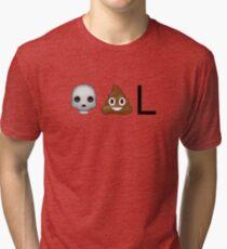 Dead-poo-L Tri-blend T-Shirt