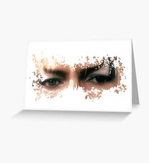 David Bowie: Jareth Eyes  Greeting Card