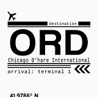 Chicago Ohare International Airport Call Letters by Leah Biernacki