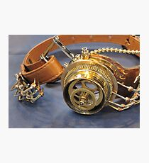 Steampunk Goggles Photographic Print