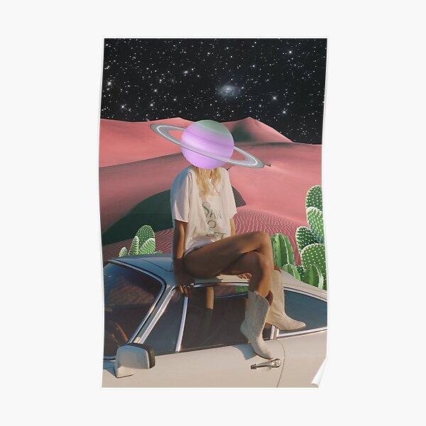UFO girl Poster