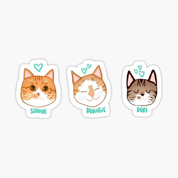 Soonie, Doongie and Dori Sticker