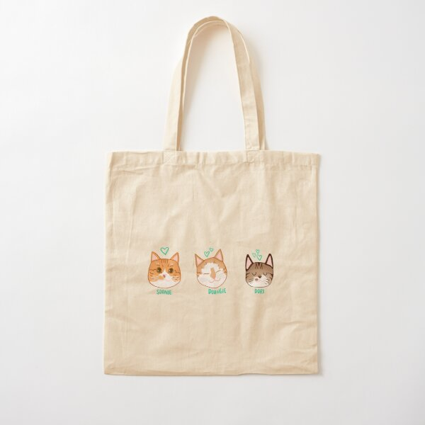 Soonie, Doongie and Dori Cotton Tote Bag
