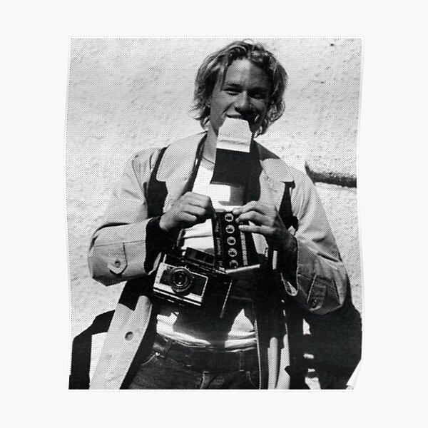 Heath the Photographer Poster