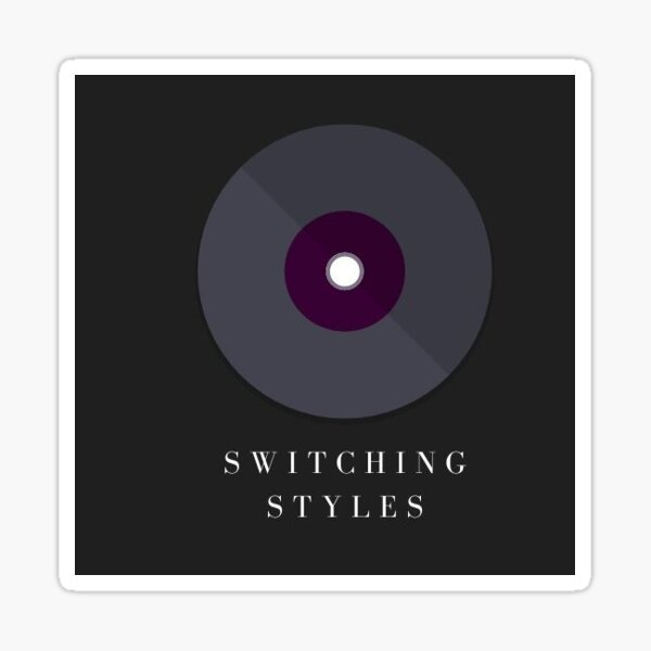 Switching Styles Discography Sticker