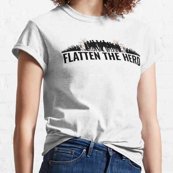Flatten The Herds Classic T-Shirt