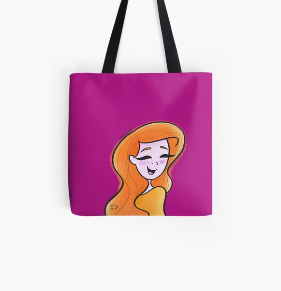 Angie - Fabulous All Over Print Tote Bag