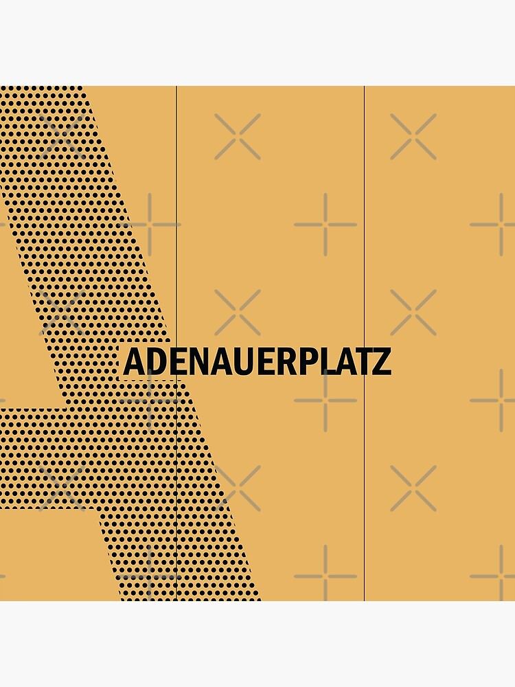 Adenauerplatz Station Tiles (Berlin) by in-transit