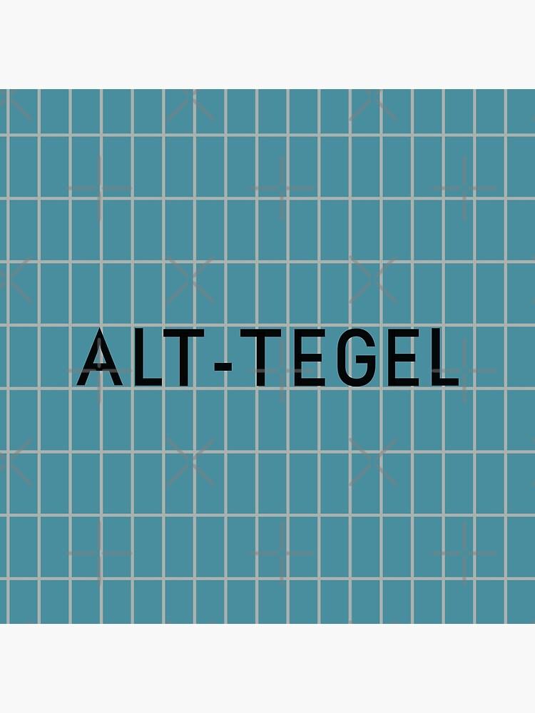 Alt-Tegel Station Tiles (Berlin) by in-transit