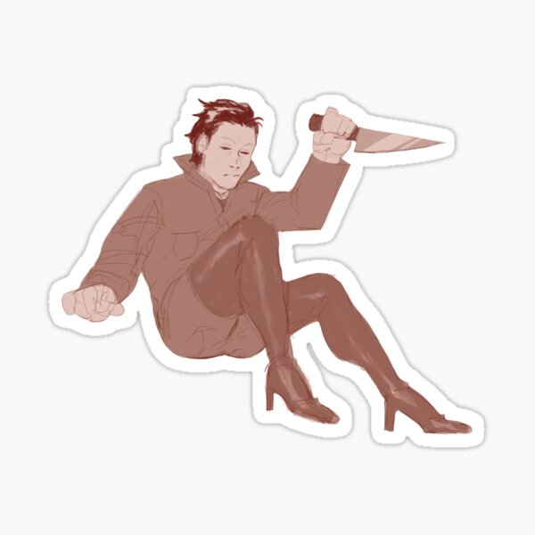 mr myers Sticker