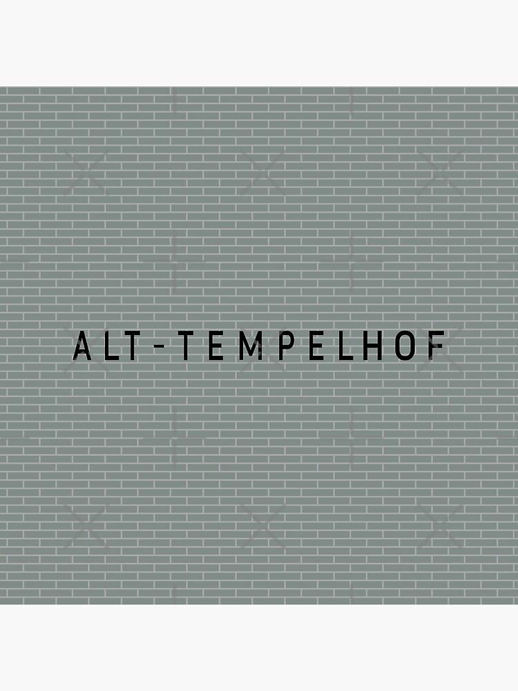 Alt-Tempelhof Station Tiles (Berlin) by in-transit