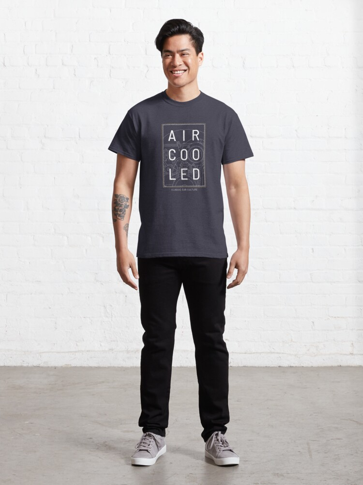 Alternate view of Aircooled Engine - Classic Car Culture Classic T-Shirt