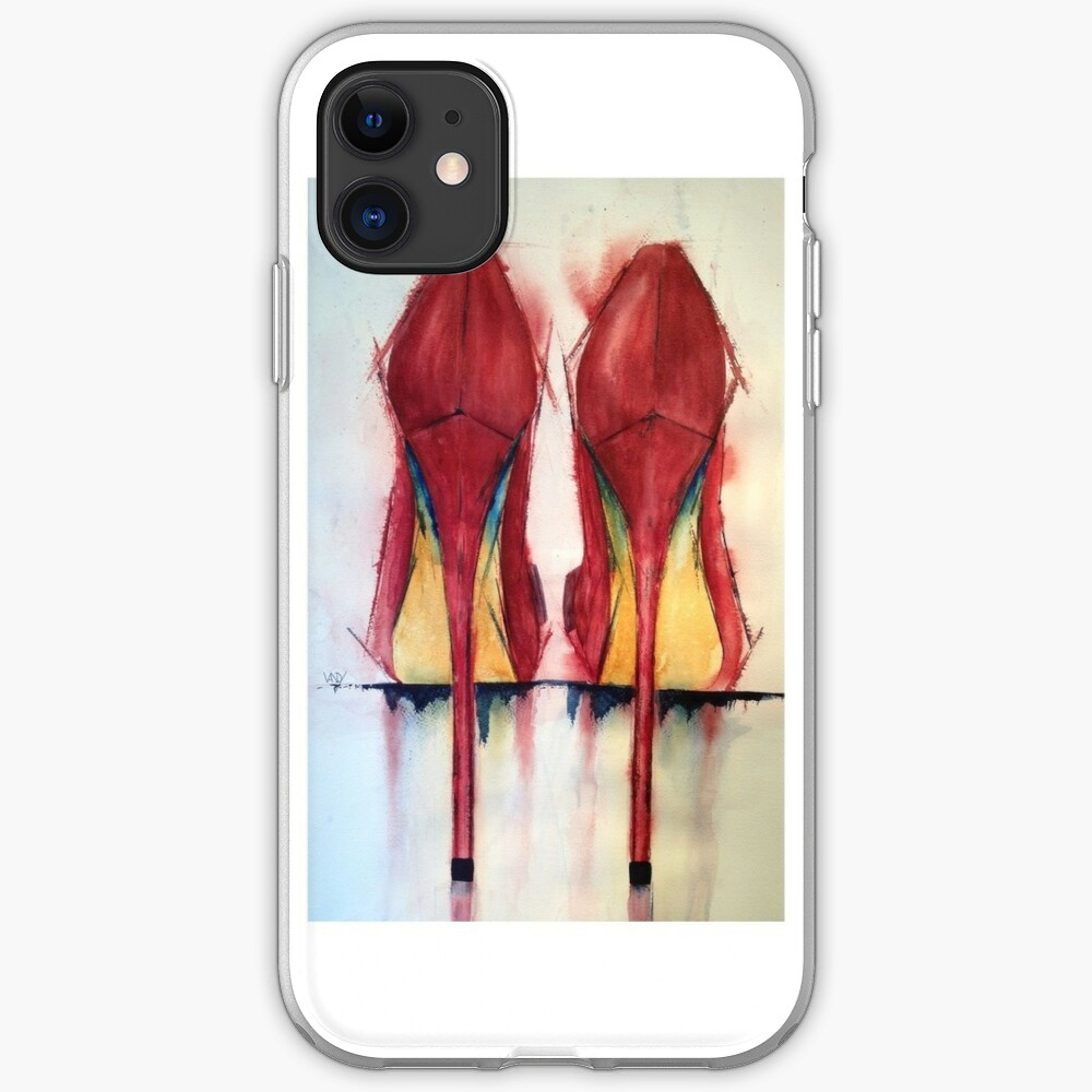 Red Shoes - Girls' Best Friends iPhone Case & Cover